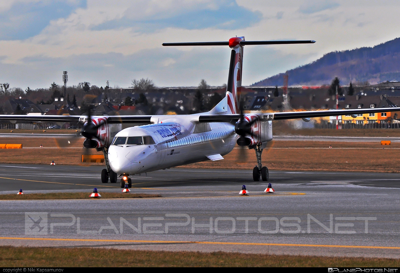 Bombardier DHC-8-Q402 Dash 8 - SP-EQK operated by EuroLOT #bombardier #dash8 #dhc8 #dhc8q402