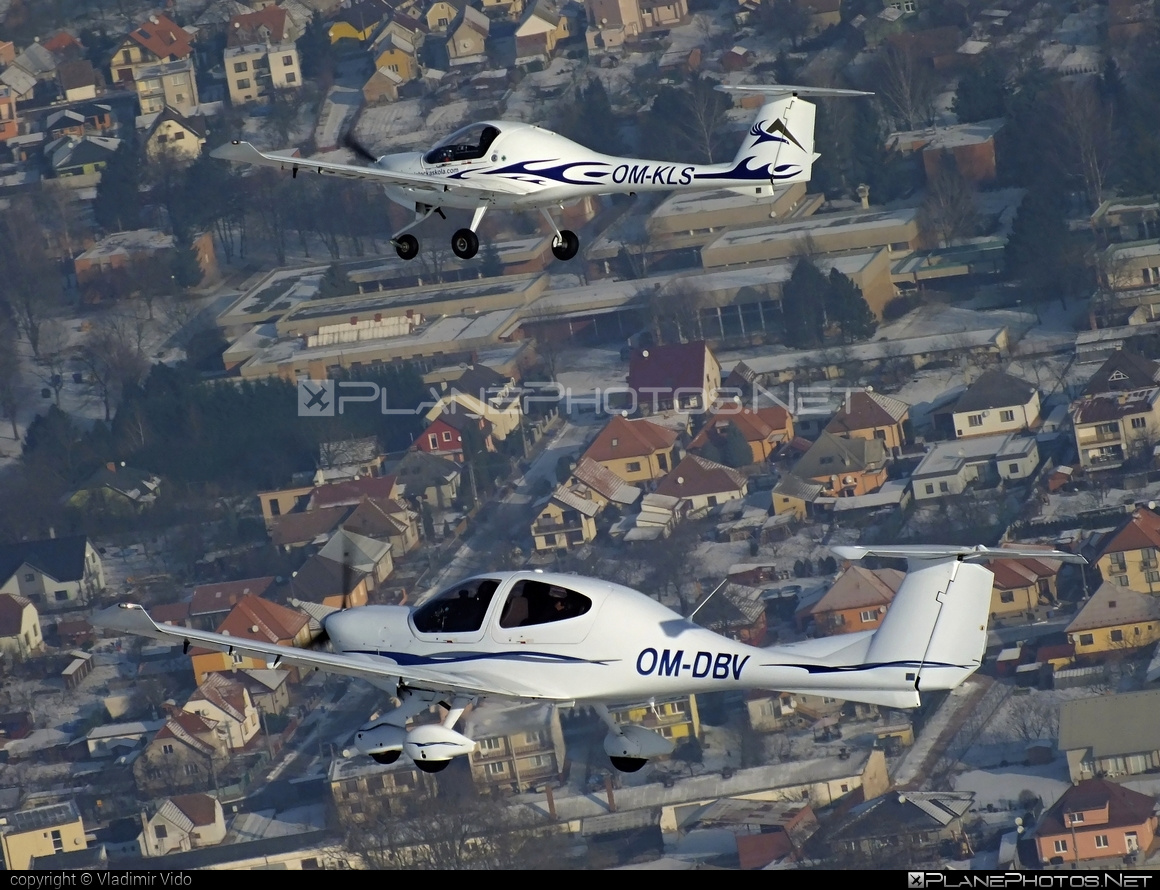 Diamond DA40 Diamond Star - OM-DBV operated by Seagle Air FTO #diamond