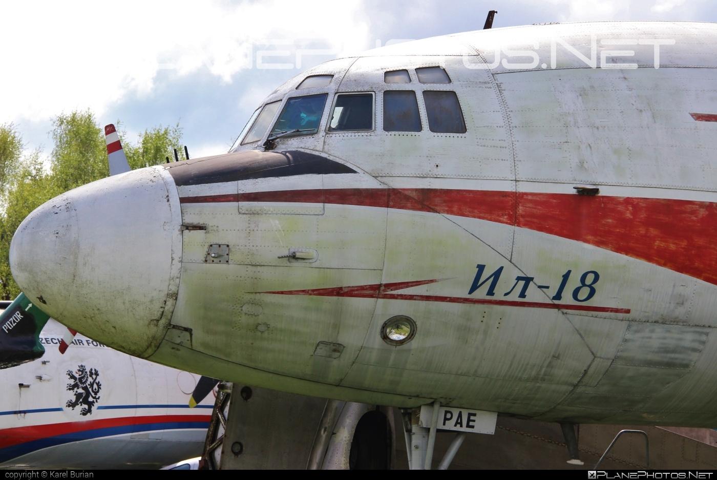 Ilyushin Il-18V - OK-PAE operated by ČSA Československé aerolínie #il18 #il18v #ilyushin
