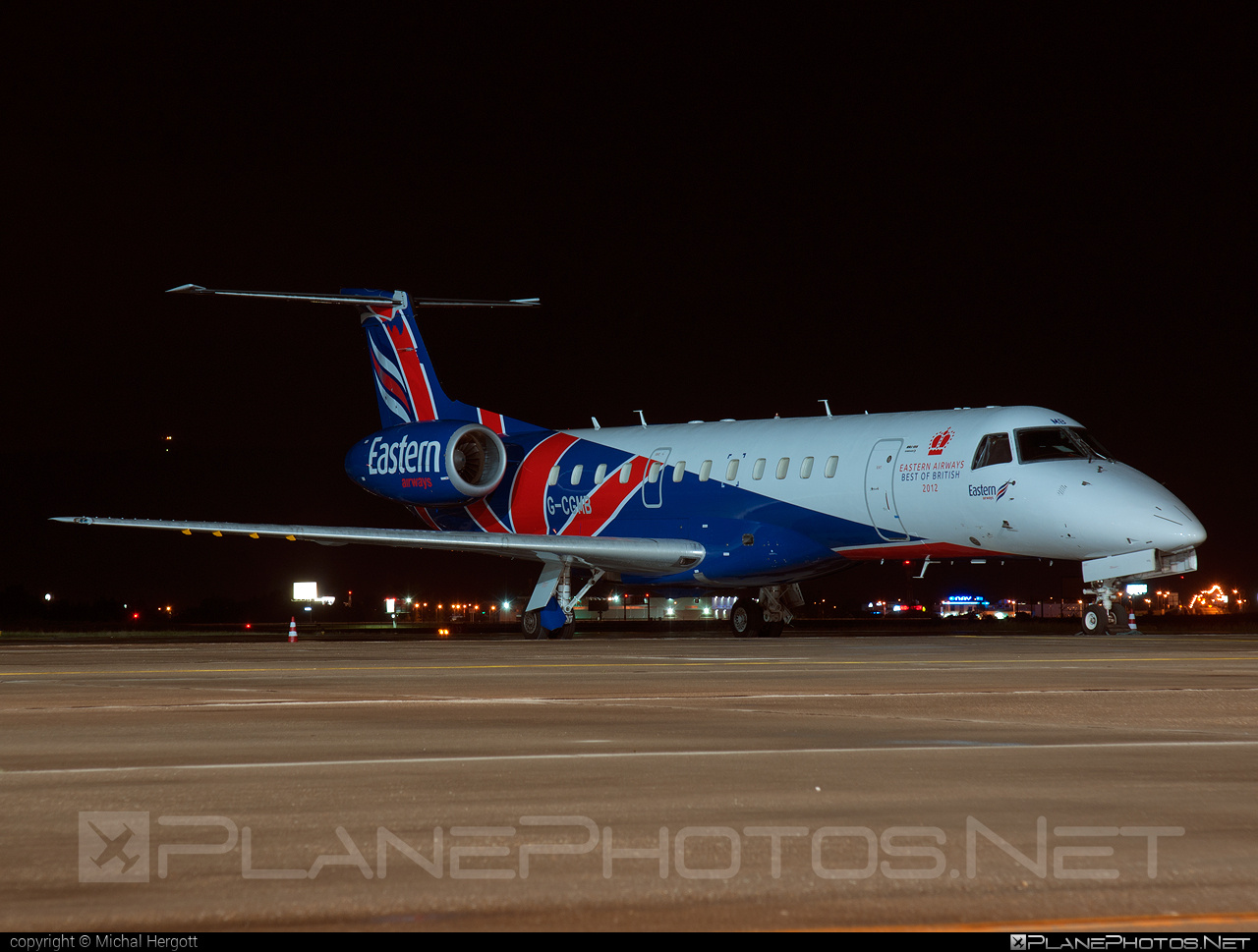 Embraer ERJ-135ER - G-CGMB operated by Eastern Airways #embraer