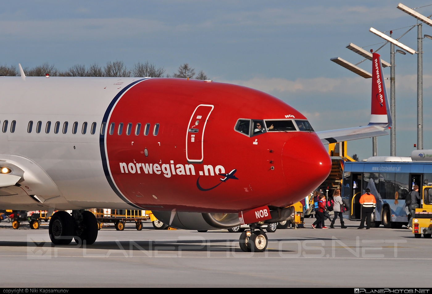 Boeing 737-800 - LN-NOB operated by Norwegian Air Shuttle #b737 #b737nextgen #b737ng #boeing #boeing737 #norwegian #norwegianair #norwegianairshuttle