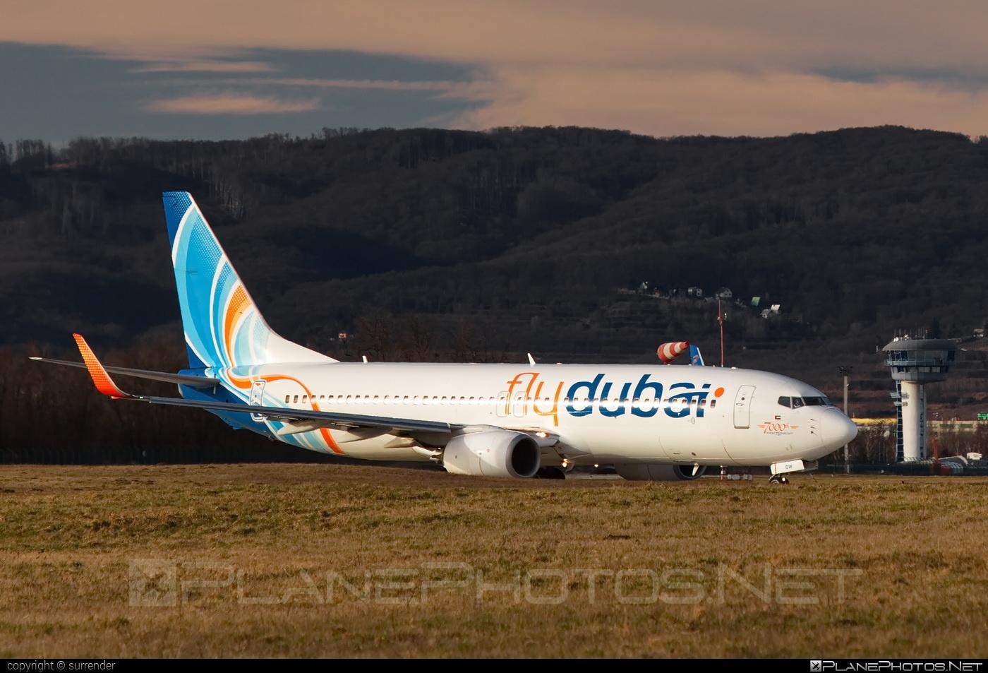 Boeing 737-800 - A6-FDW operated by flydubai #b737 #b737nextgen #b737ng #boeing #boeing737