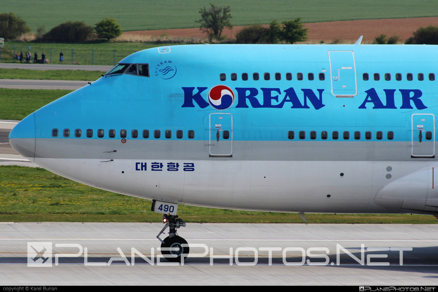 Boeing 747-400 - HL7490 operated by Korean Air #b747 #boeing #boeing747 #jumbo #koreanair
