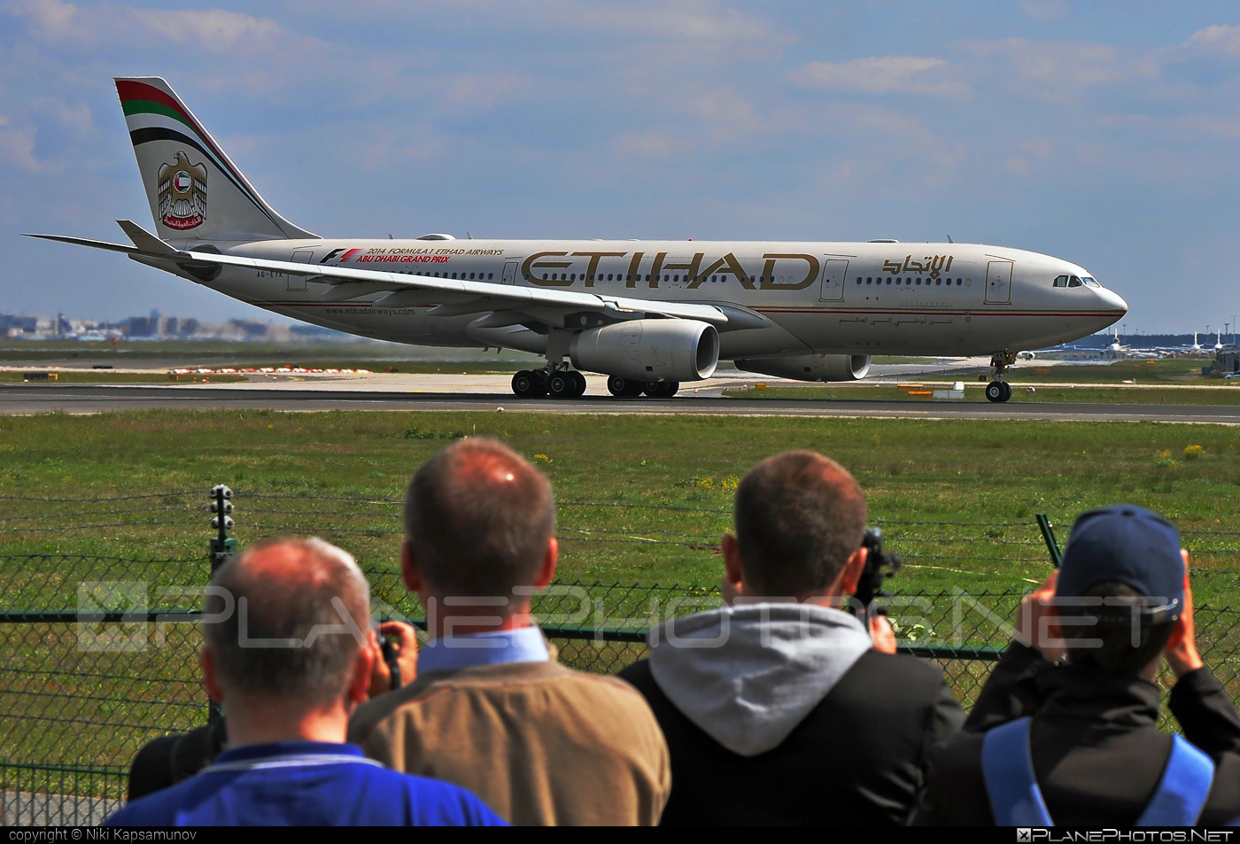 Airbus A330-243 - A6-EYK operated by Etihad Airways #a330 #a330family #airbus #airbus330 #etihad #etihadairways