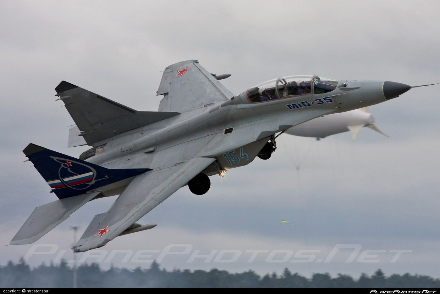 Mikoyan-Gurevich MiG-35 - 154 operated by Voyenno-vozdushnye sily Rossii (Russian Air Force) #maks2009 #mig #mikoyangurevich