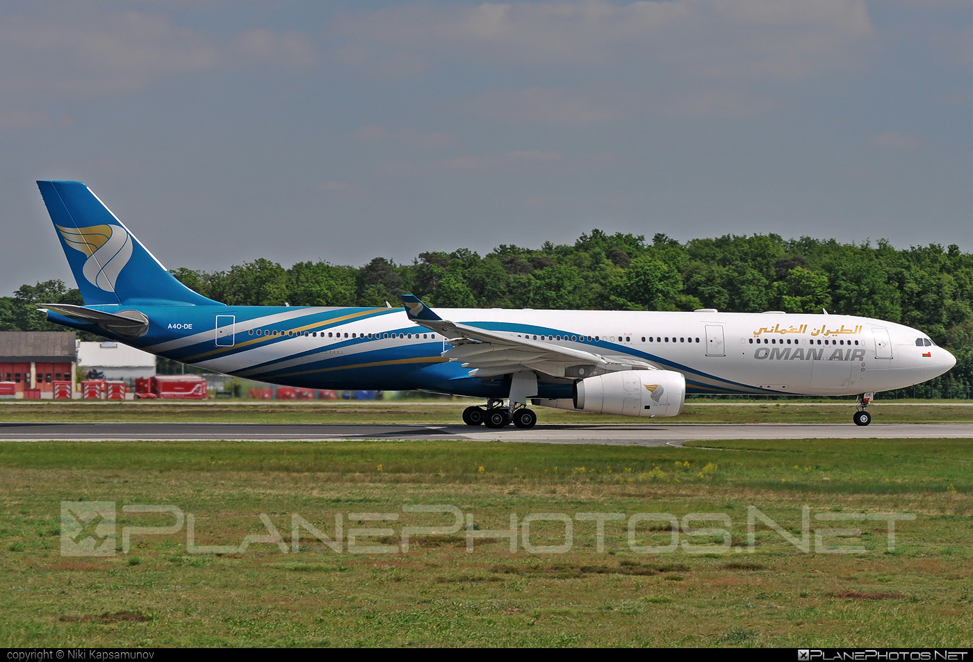 Airbus A330-343 - A4O-DE operated by Oman Air #a330 #a330family #airbus #airbus330