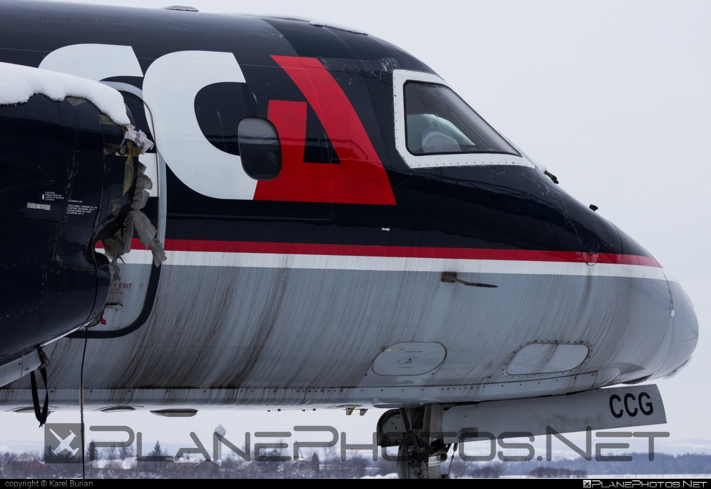 Saab 340A - OK-CCG operated by Central Connect Airlines #saab #saab340 #saab340a