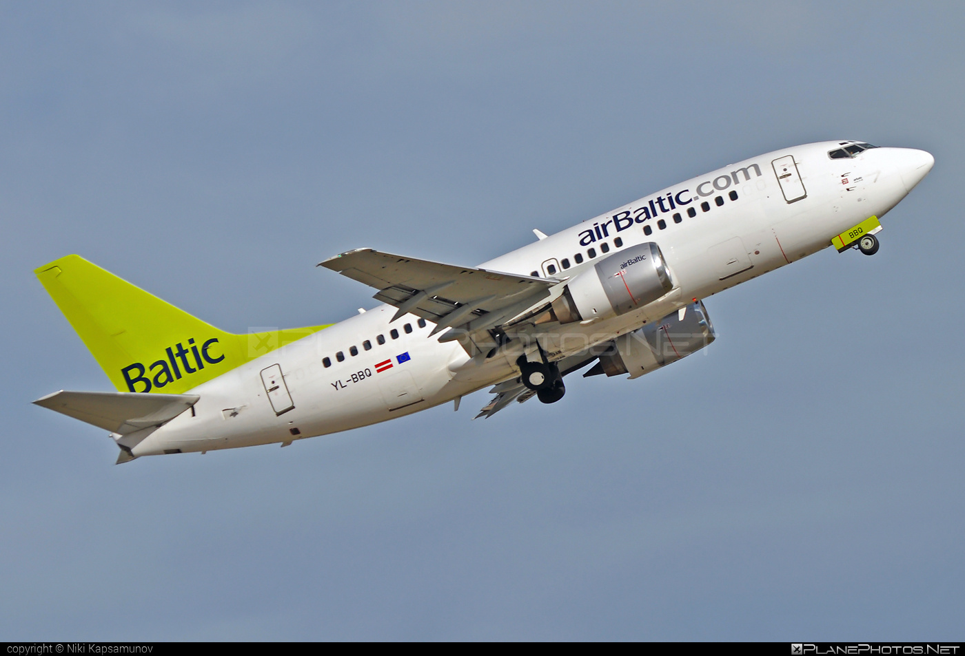 Air Baltic Boeing 737-500 - YL-BBQ #airbaltic #b737 #boeing #boeing737
