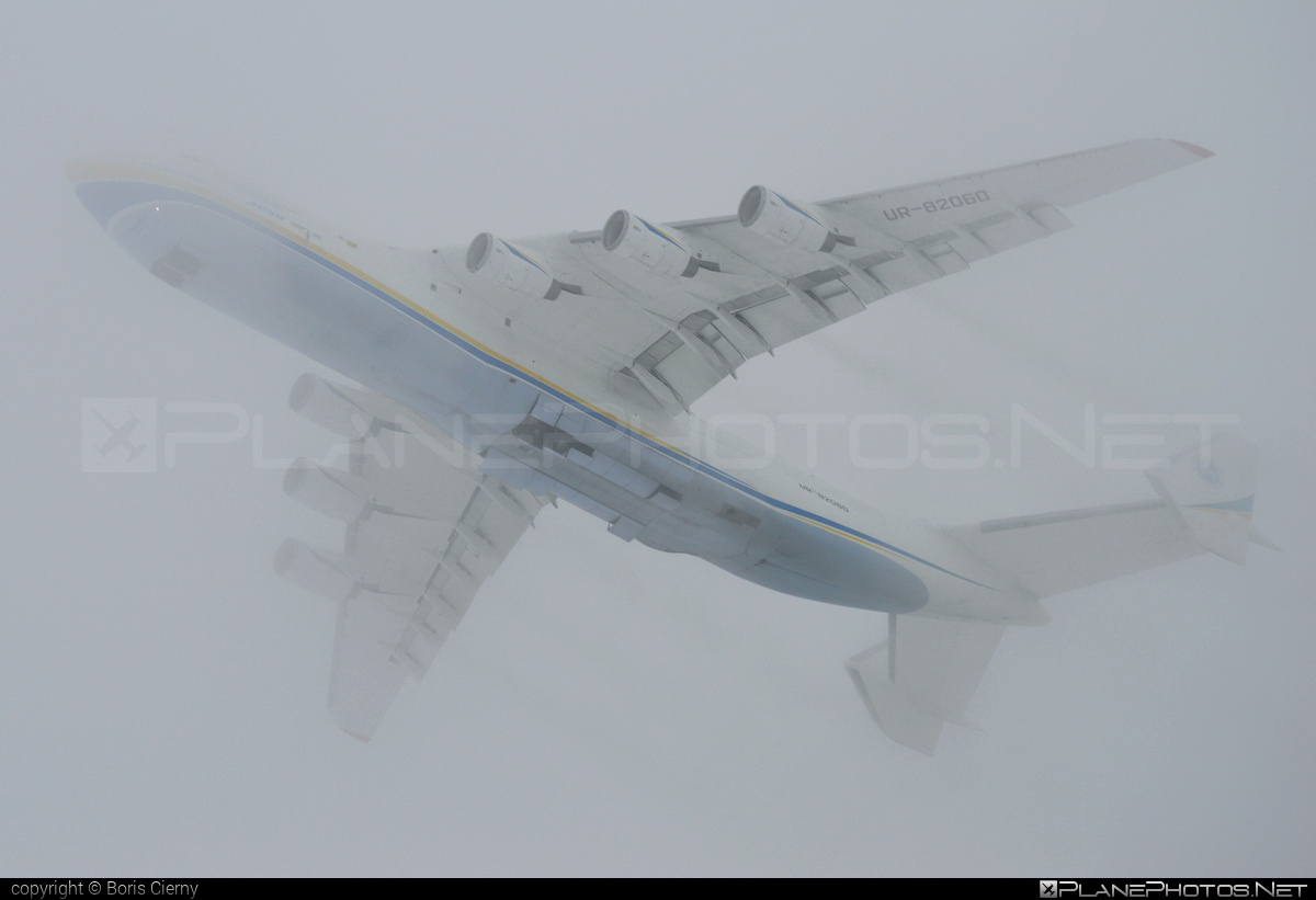 Antonov An-225 Mriya - UR-82060 operated by Antonov Airlines #an225 #antonov #antonov225 #mryia
