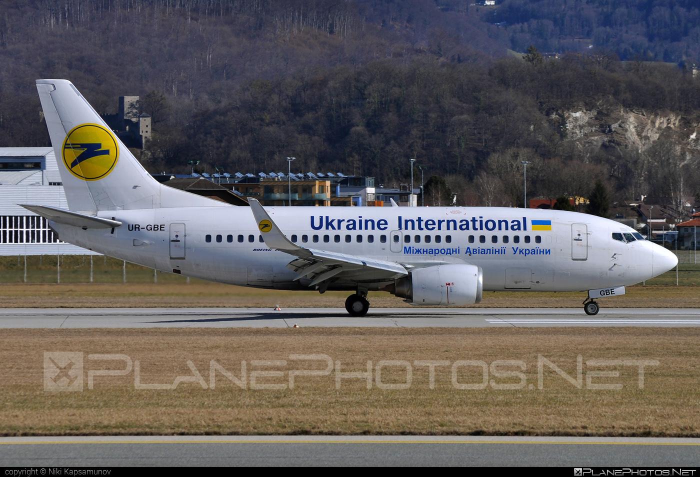 Boeing 737-500 - UR-GBE operated by Ukraine International Airlines #b737 #boeing #boeing737 #uia #ukraineinternationalairlines