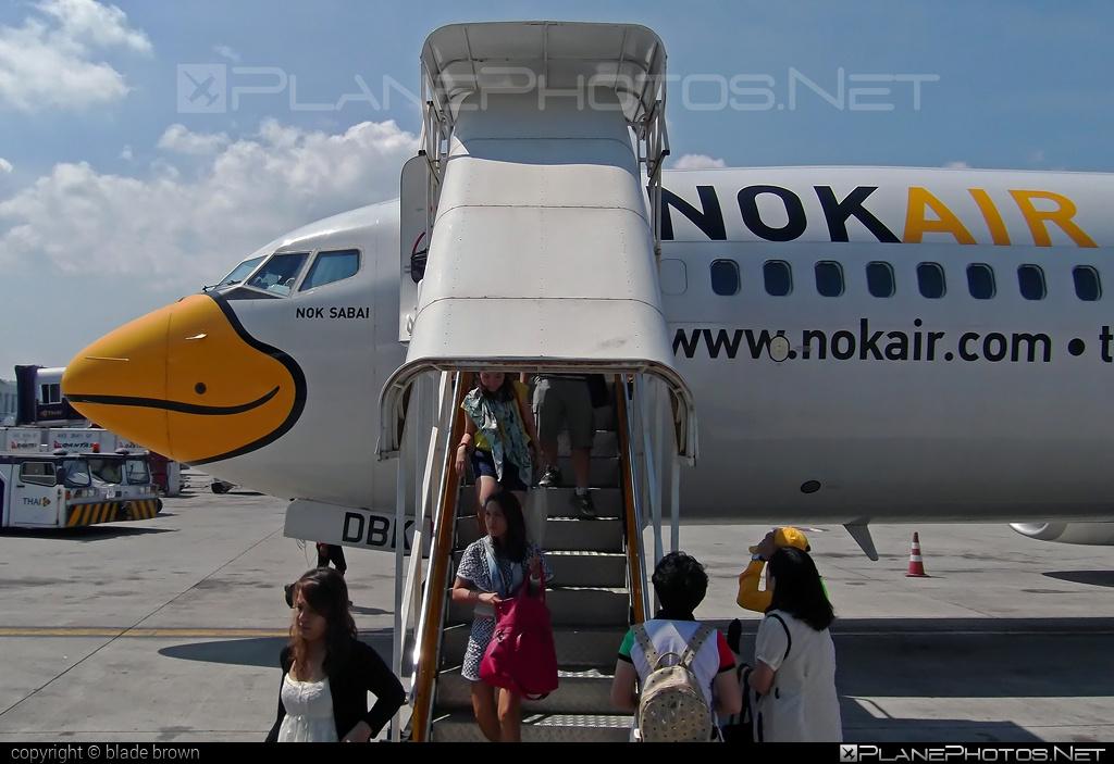 Nok Air Boeing 737-800 - HS-DBK #b737 #b737nextgen #b737ng #boeing #boeing737