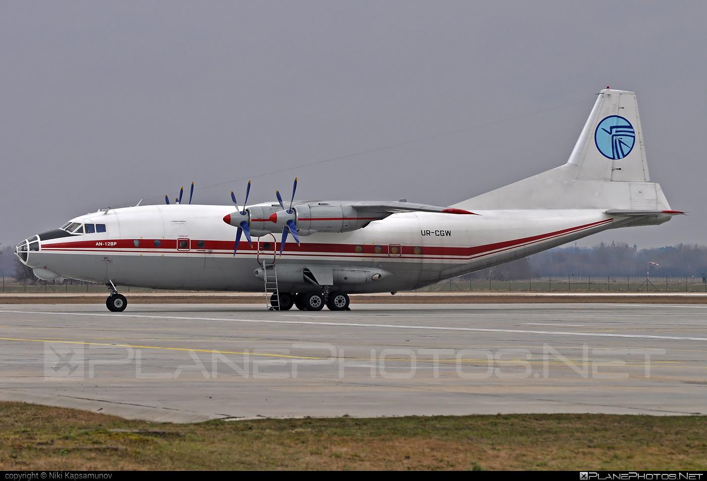 Antonov An-12BP - UR-CGW operated by Ukraine Air Alliance (UAA) #an12 #an12bp #antonov #antonov12