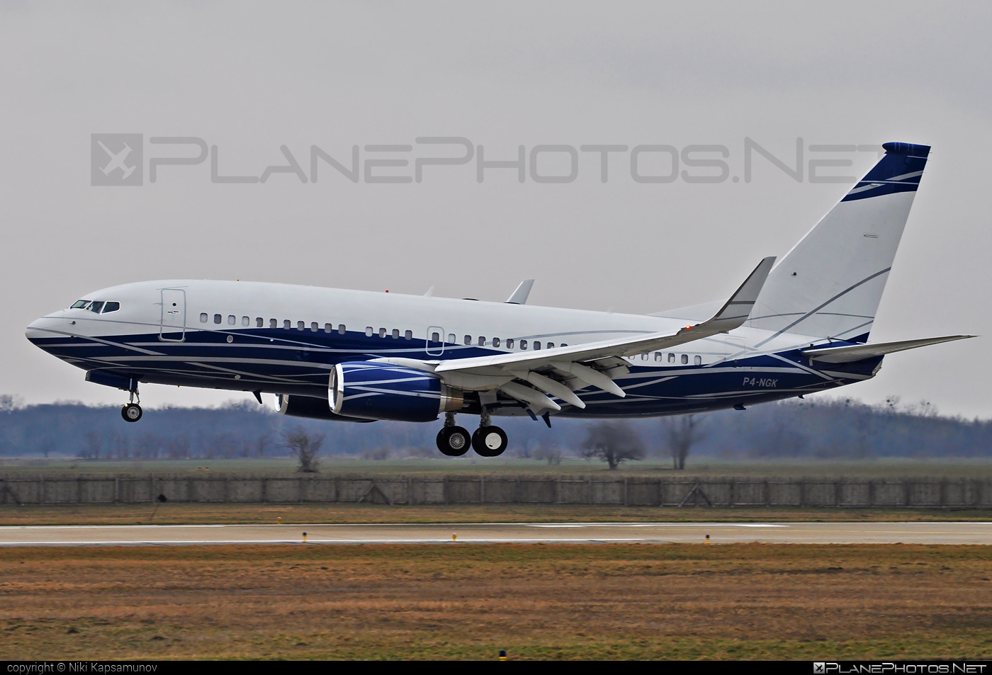Boeing 737-700 BBJ - P4-NGK operated by Private operator #b737 #b737bbj #bbj #boeing #boeing737 #boeingbusinessjet