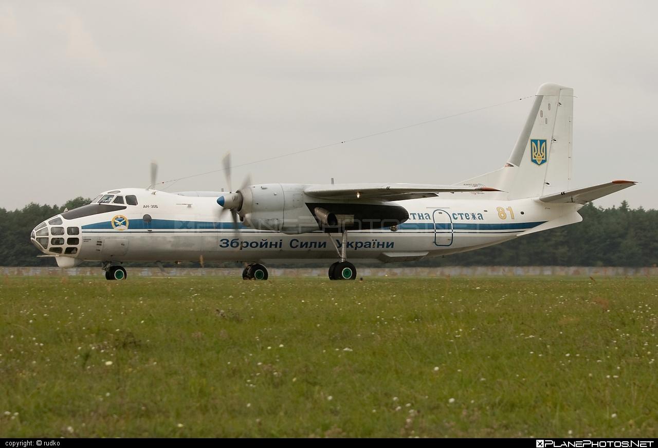 Antonov An-30B - 81 operated by Povitryani Syly Ukrayiny (Ukrainian Air Force) #an30 #an30b #antonov #antonov30 #povitryanisylyukrayiny #ukrainianairforce