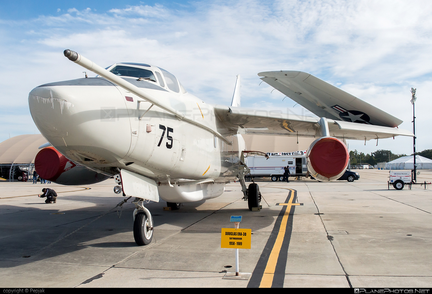Douglas EA-3B Skywarrior - N875RS operated by Private operator #douglas