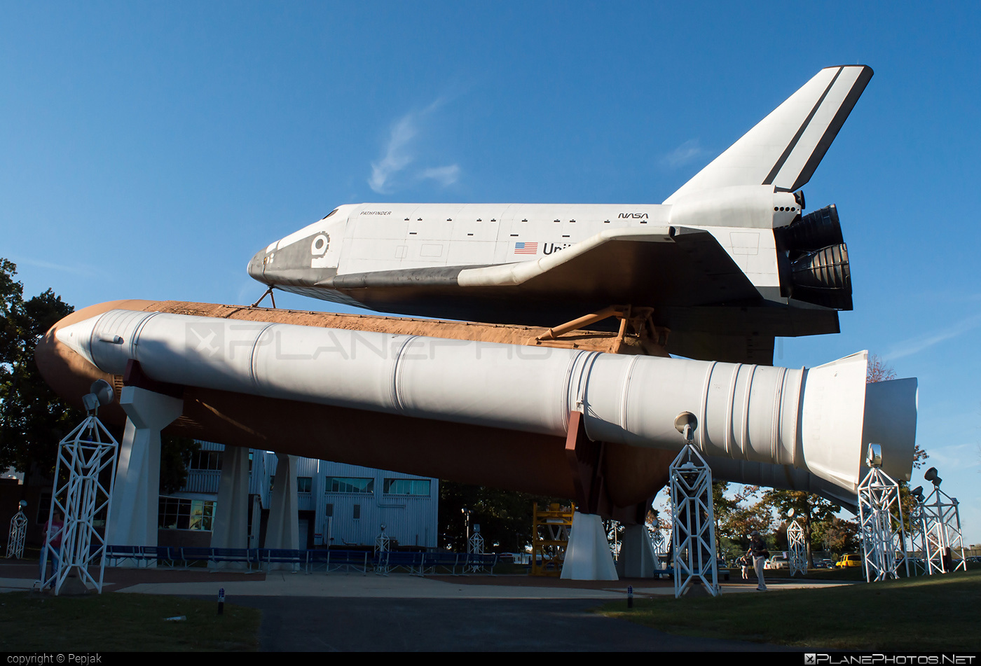 Rockwell Space Shuttle (mock-up) - OV-098 operated by United States of America - National Aeronautics and Space Administration (NASA) #rockwell