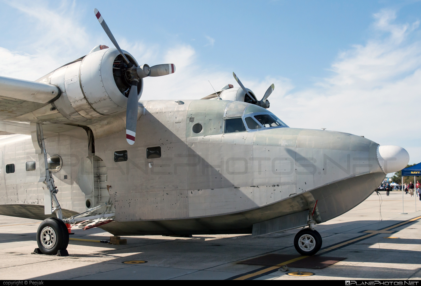 Grumman HU-16C Albatross - N1954Z operated by Private operator #grumman