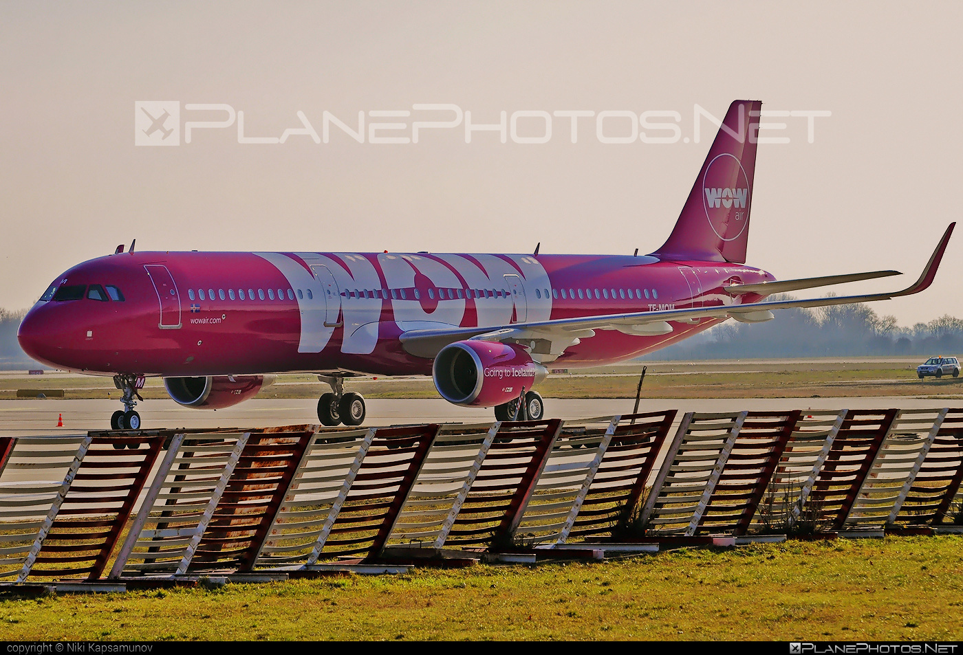Airbus A321-211 - TF-MOM operated by WOW air #a320family #a321 #airbus #airbus321