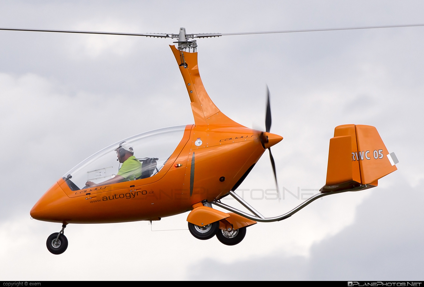 AutoGyro Calidus - OK-RWC 05 operated by Private operator #autogyro