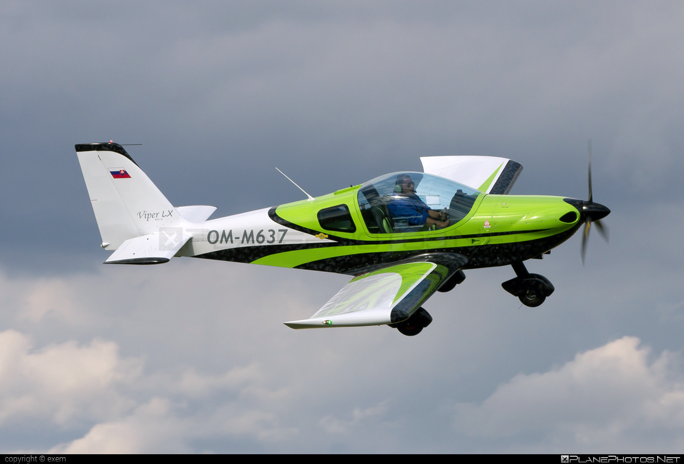 Tomark SD4 Viper LX - OM-M637 operated by Private operator #sd4viper #sd4viperlx #tomark
