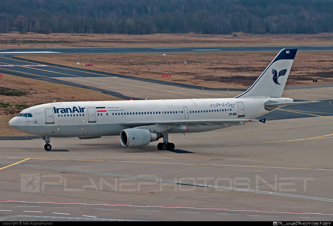 Airbus A300B4-605R - EP-IBD operated by Iran Air #a300 #airbus