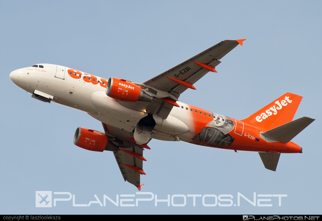 Airbus A319-111 - G-EZBI operated by easyJet #a319 #a320family #airbus #airbus319 #easyjet