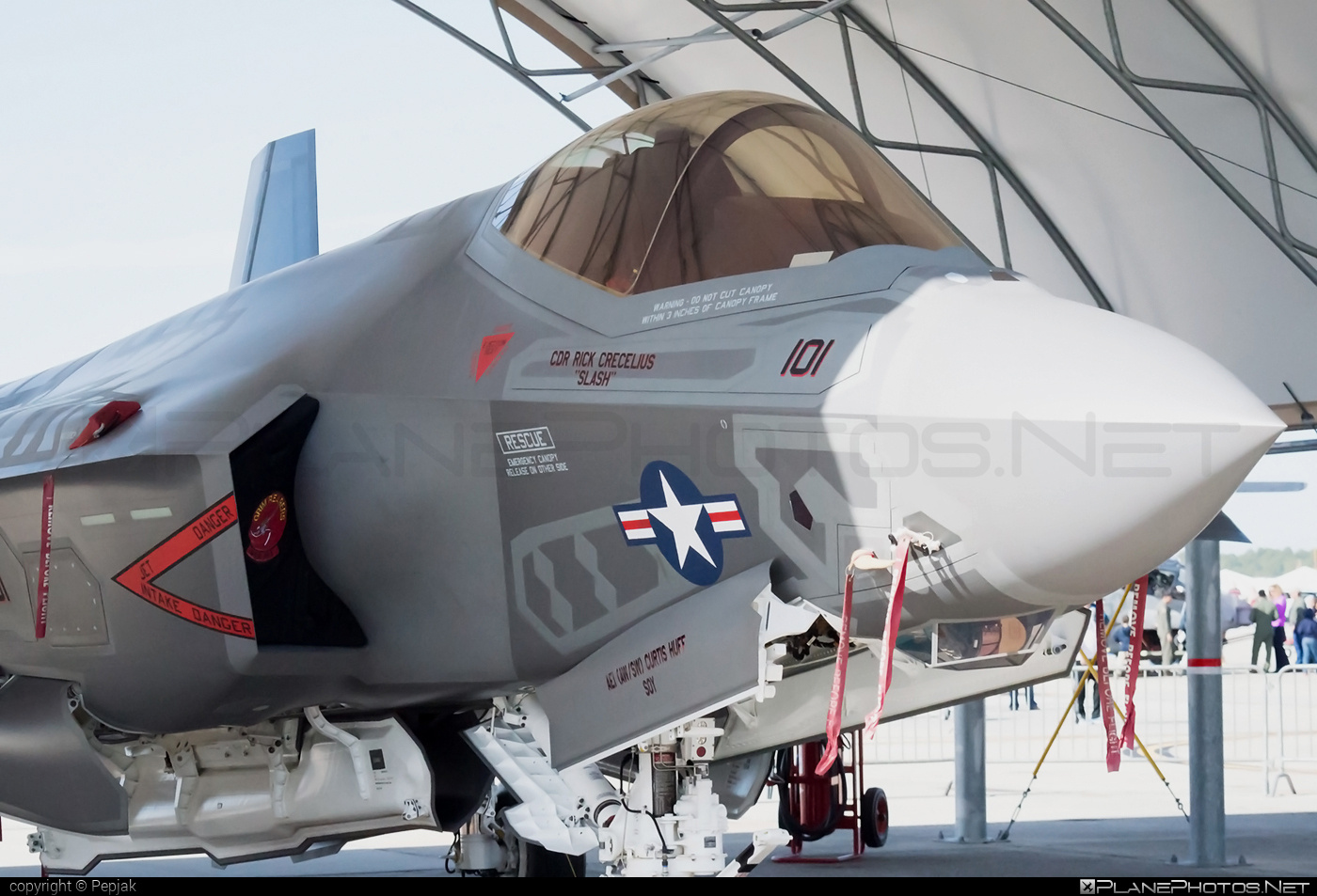 Lockheed Martin F-35C Lightning II - 168733 operated by US Navy (USN) #lockheedmartin