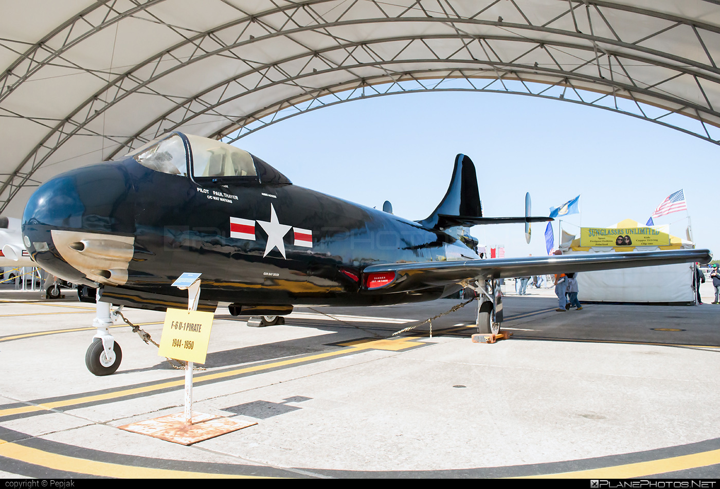 Vought F6U-1 Pirate - 122479 operated by US Navy (USN) #vought