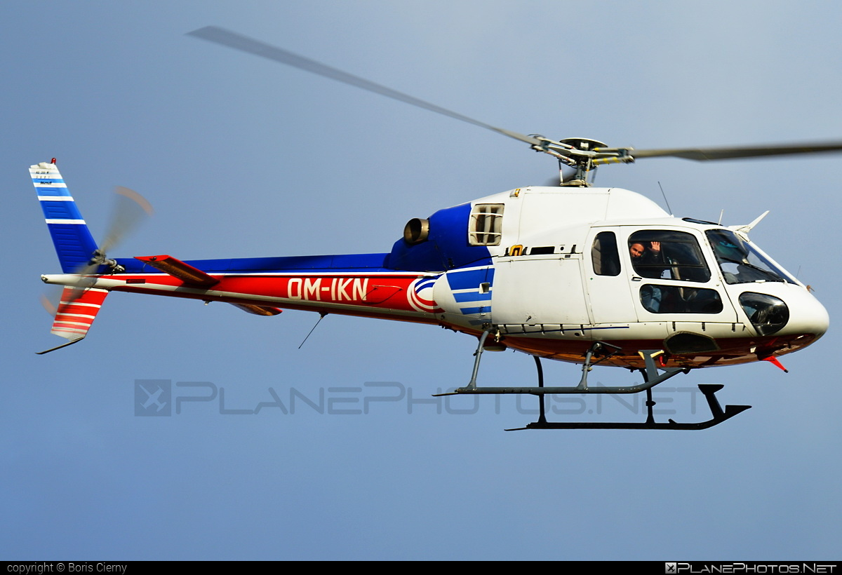 Aerospatiale AS355 Ecureuil 2 - OM-IKN operated by EHC Service #aerospatiale