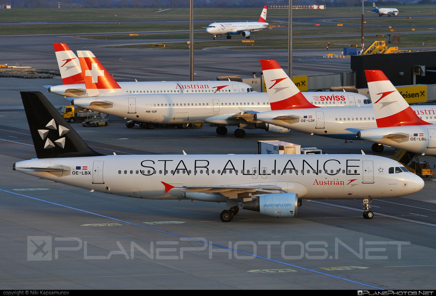 Airbus A320-214 - OE-LBX operated by Austrian Airlines #a320 #a320family #airbus #airbus320 #staralliance