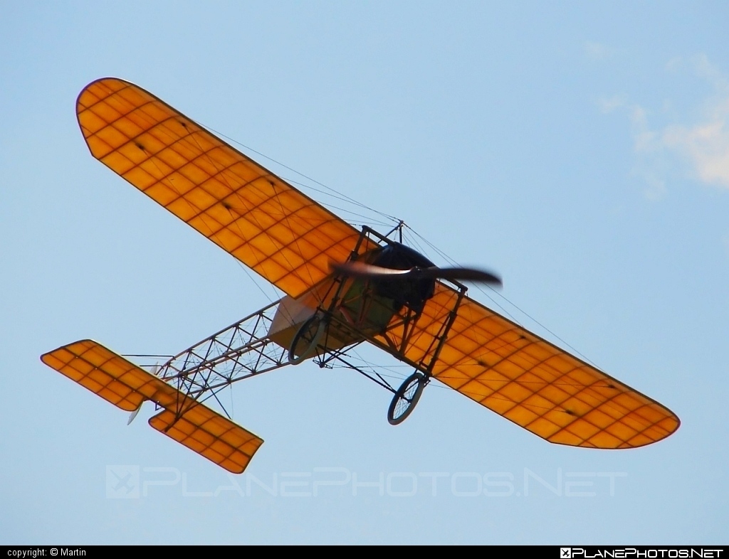 Bleriot XI - OK-OUL 50 operated by Private operator #bleriot