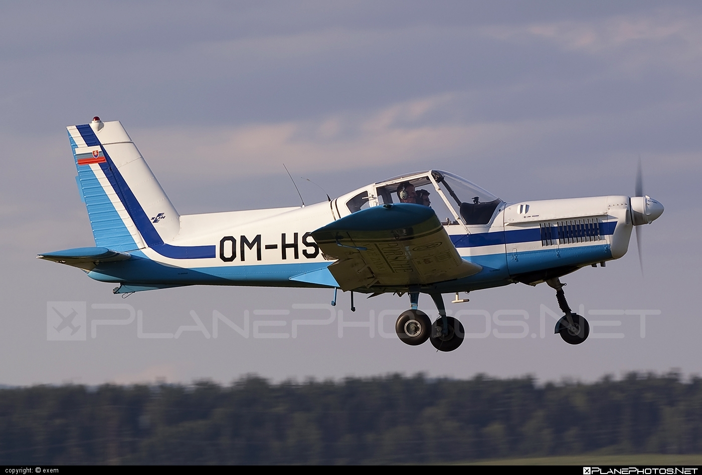 Zlin Z-42M - OM-HSI operated by Private operator #z42 #z42m #zlin #zlin42