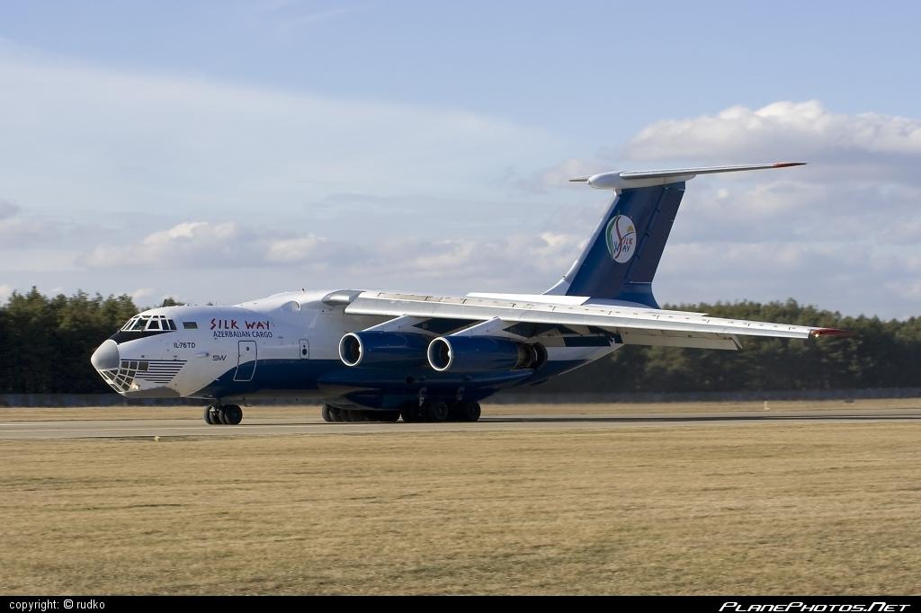 Ilyushin Il-76TD - 4K-AZ55 operated by Silk Way Airlines #il76 #il76td #ilyushin #silkwayairlines