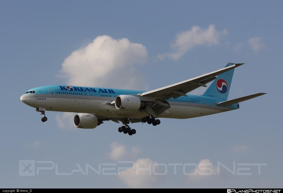 Boeing 777-200ER - HL7530 operated by Korean Air #b777 #b777er #boeing #boeing777 #koreanair #tripleseven