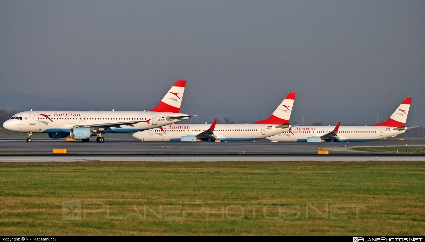 Airbus A320-214 - OE-LBR operated by Austrian Airlines #a320 #a320family #airbus #airbus320