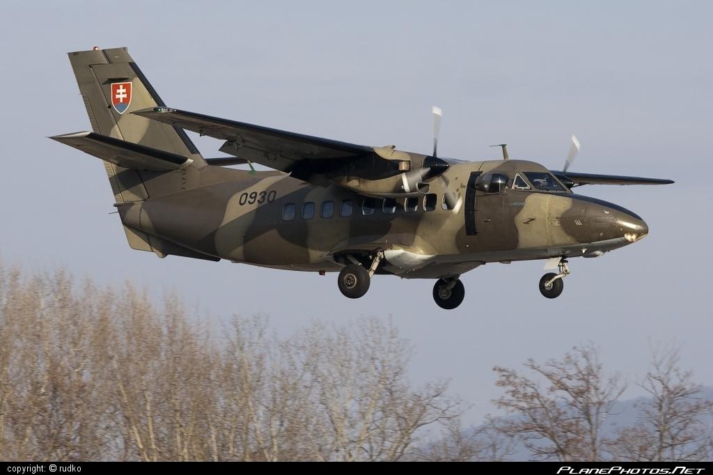 Let L-410T Turbolet - 0930 operated by Vzdušné sily OS SR (Slovak Air Force) #L410 #L410Turbolet #L410t #L410tTurbolet #let #slovakairforce #turbolet #vzdusnesilyossr