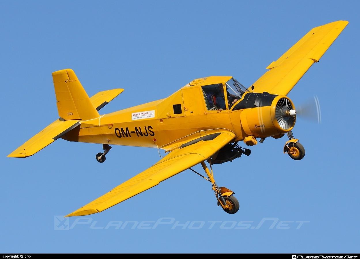 Zlin Z-37A Čmelák - OM-NJS operated by AERO SLOVAKIA #aeroslovakia #cmelak #z37 #z37a #zlin #zlin37 #zlin37cmelak