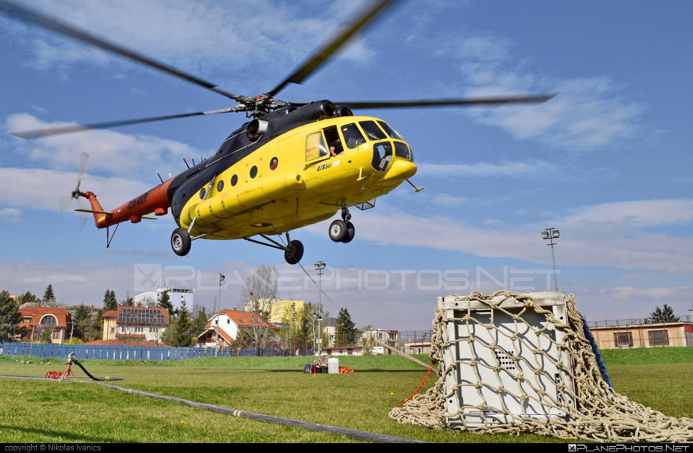 Mil Mi-8T - OM-AVP operated by UTair Europe #mil #milhelicopters #utair #utaireurope