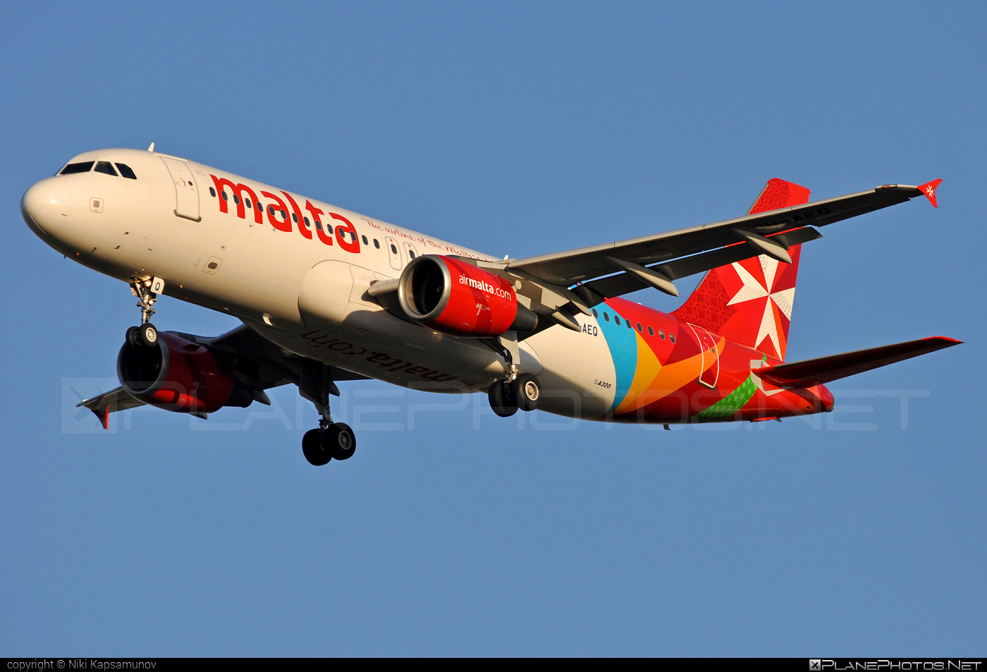 Airbus A320-214 - 9H-AEQ operated by Air Malta #a320 #a320family #airbus #airbus320 #airmalta