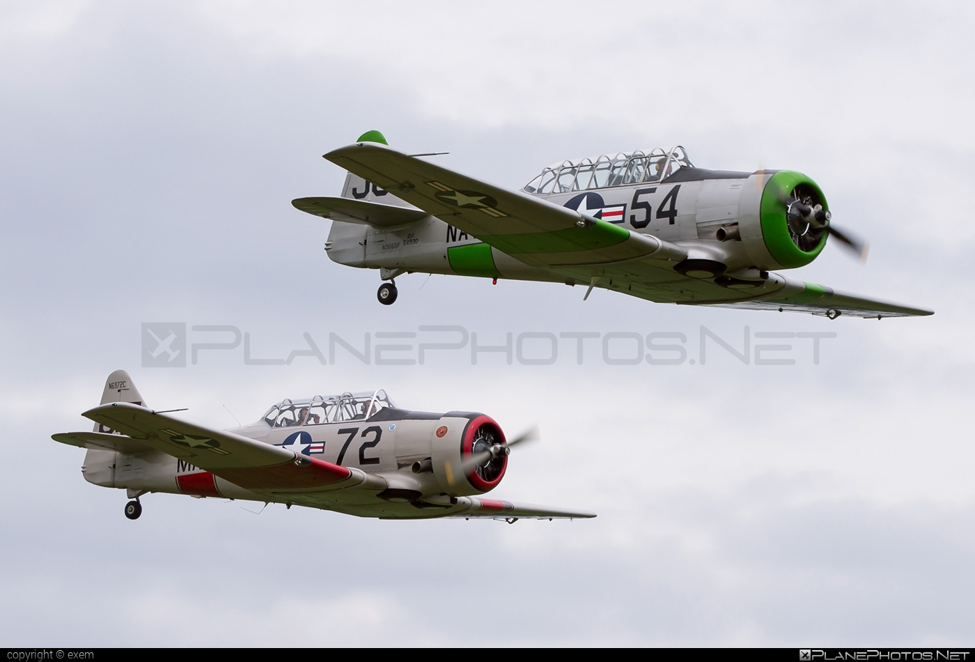 North American SNJ-5 Texan - N3665F operated by Private operator #northamerican