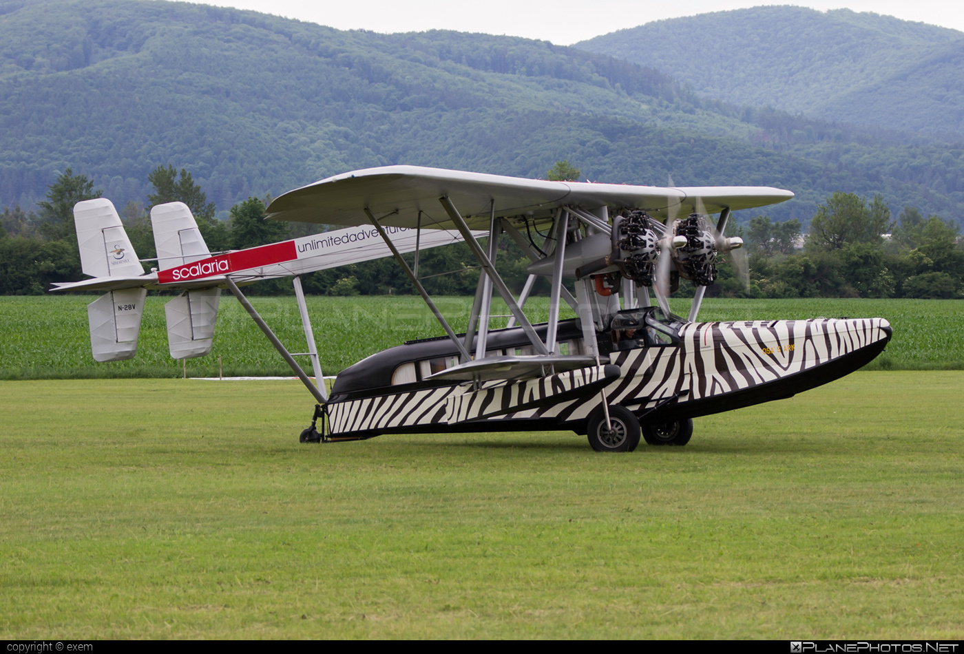 Sikorsky S-38B (replica) - N28V operated by Private operator #sikorsky