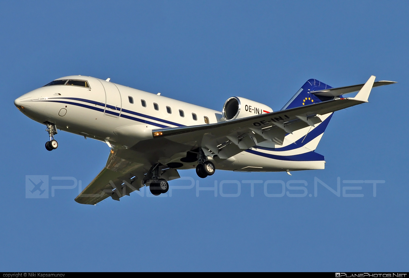 Bombardier Challenger 604 (CL-600-2B16) - OE-INJ operated by Amira Air #bombardier #challenger604 #cl6002b16