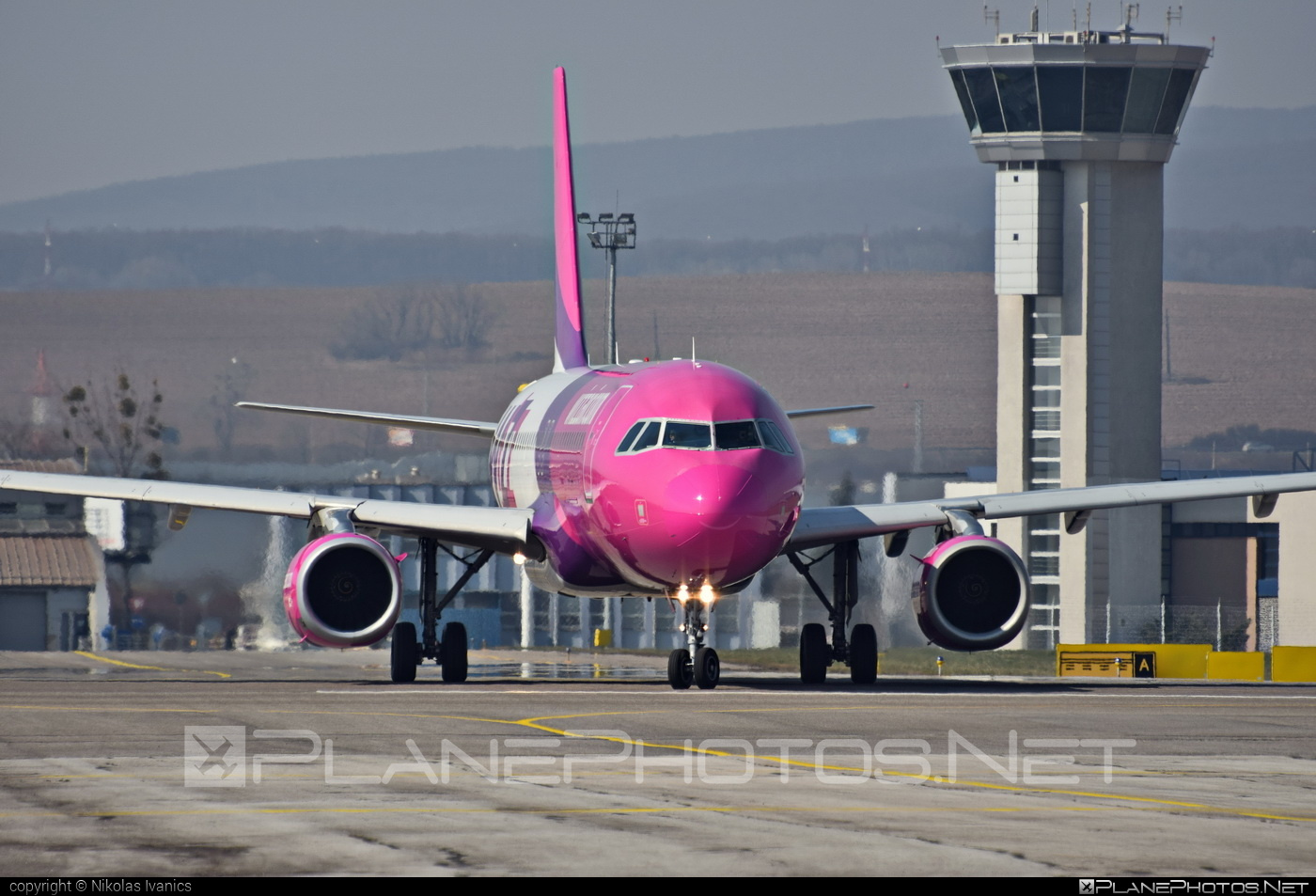 Airbus A320-232 - HA-LWG operated by Wizz Air #a320 #a320family #airbus #airbus320 #wizz #wizzair