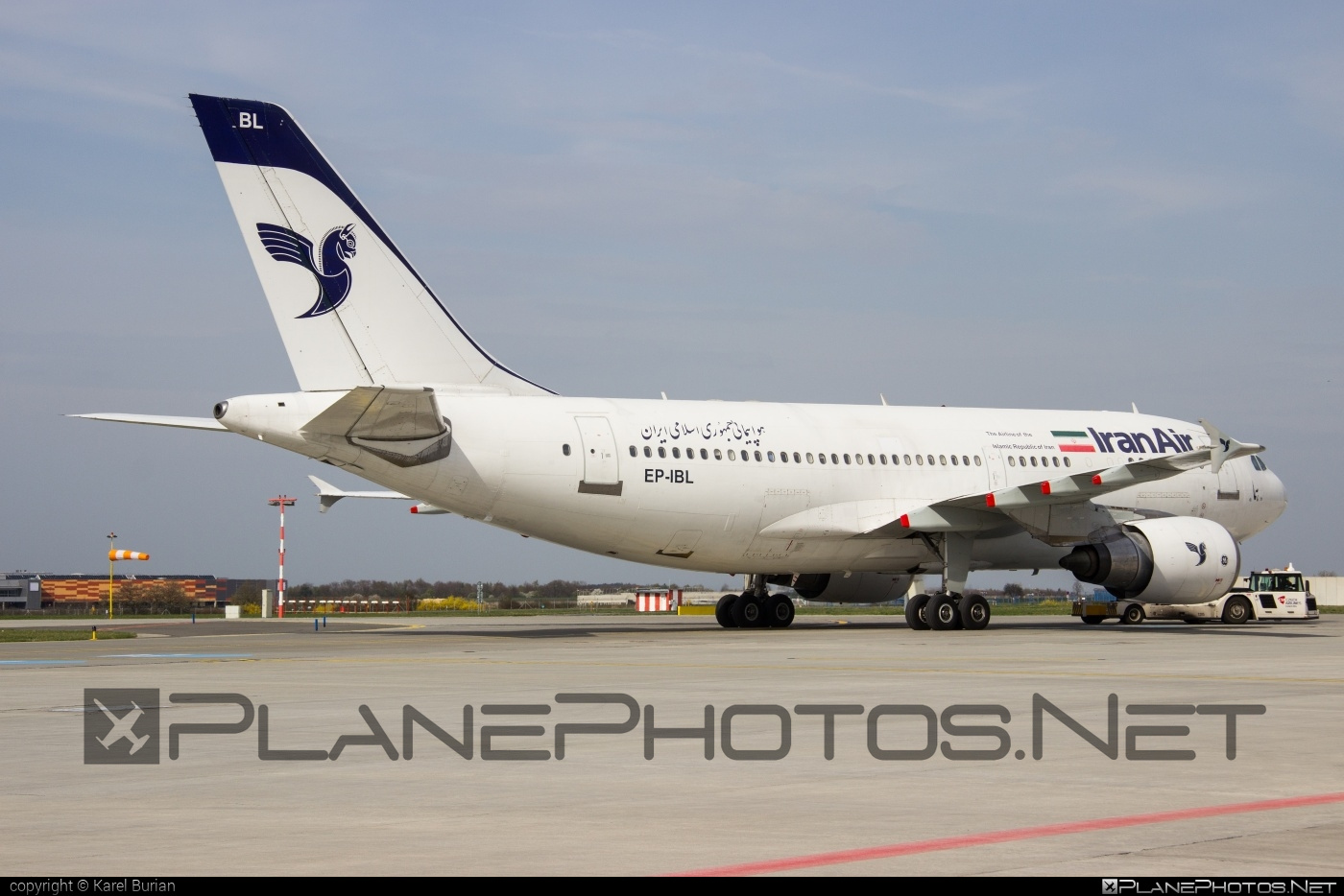 Airbus A310-304 - EP-IBL operated by Iran Air #a310 #airbus