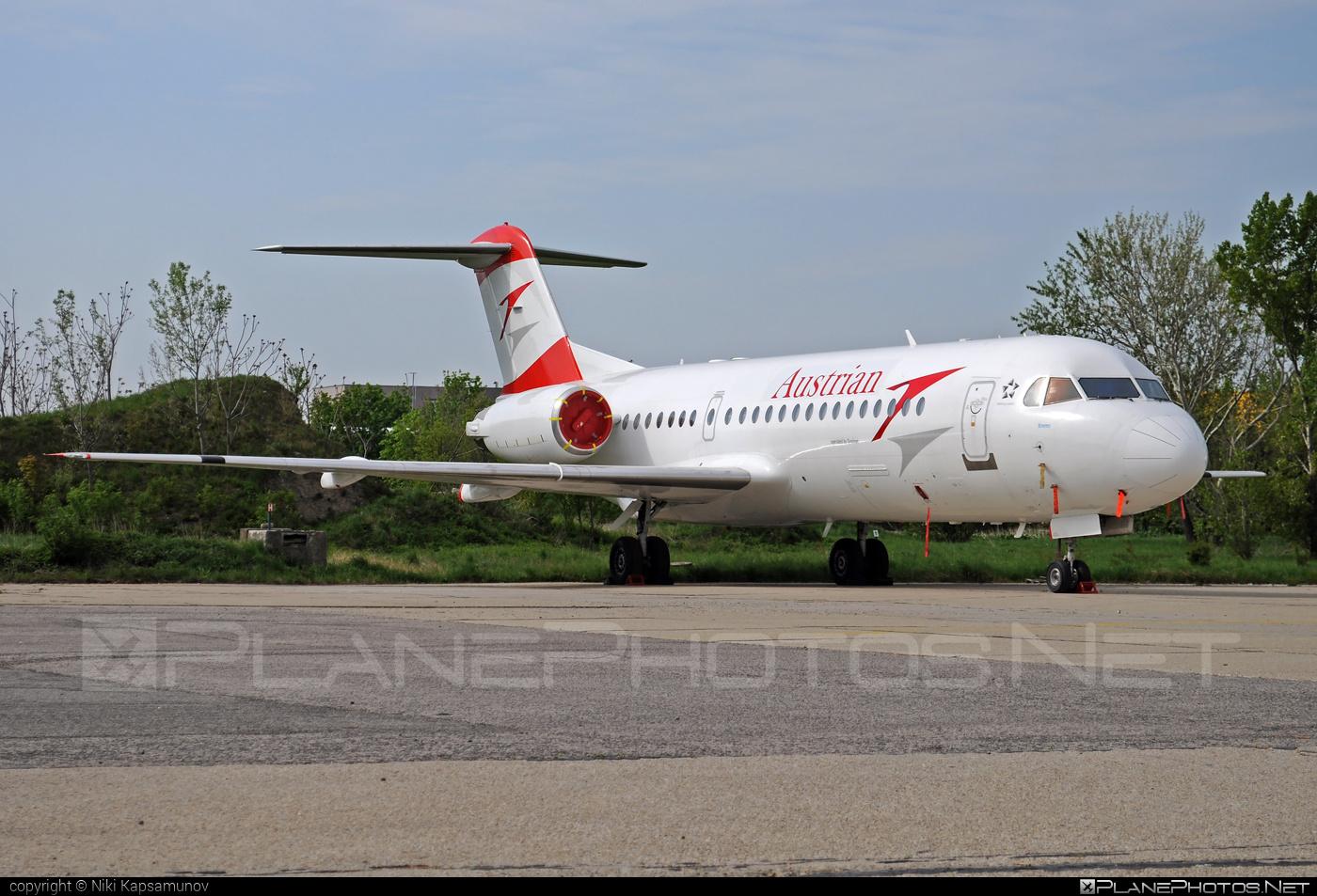 Fokker 70 - OE-LFK operated by Austrian Airlines #fokker