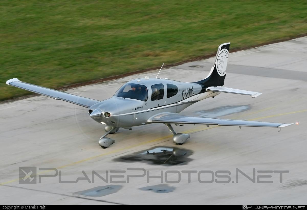 Cirrus SR22T - OK-VIK operated by Alpha Aviation #cirrus
