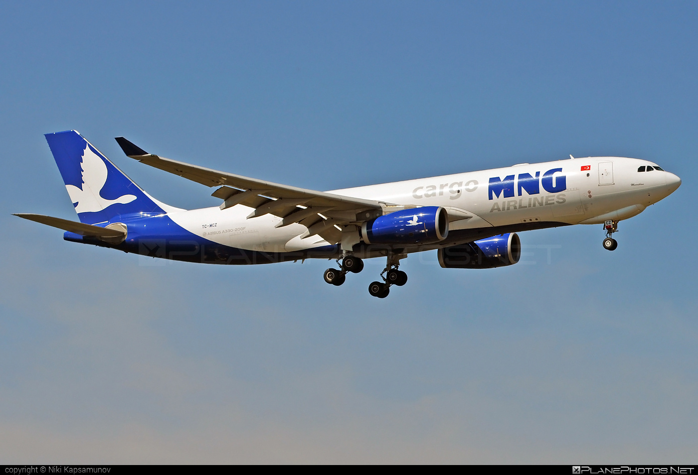 Airbus A330-243F - TC-MCZ operated by MNG Airlines #a330 #a330f #a330family #airbus #airbus330