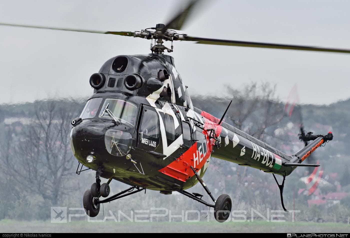 Forgószárny Kft. Mil Mi-2 - HA-BCL #mil #milhelicopters