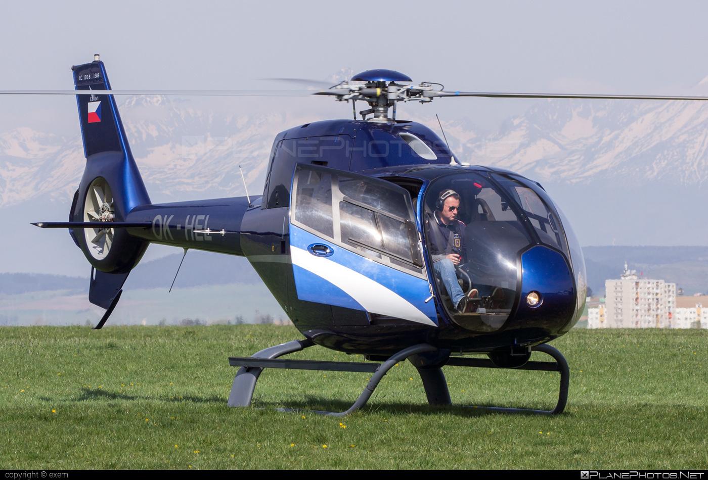 Private operator Eurocopter EC120 B Colibri - OK-HEL #eurocopter