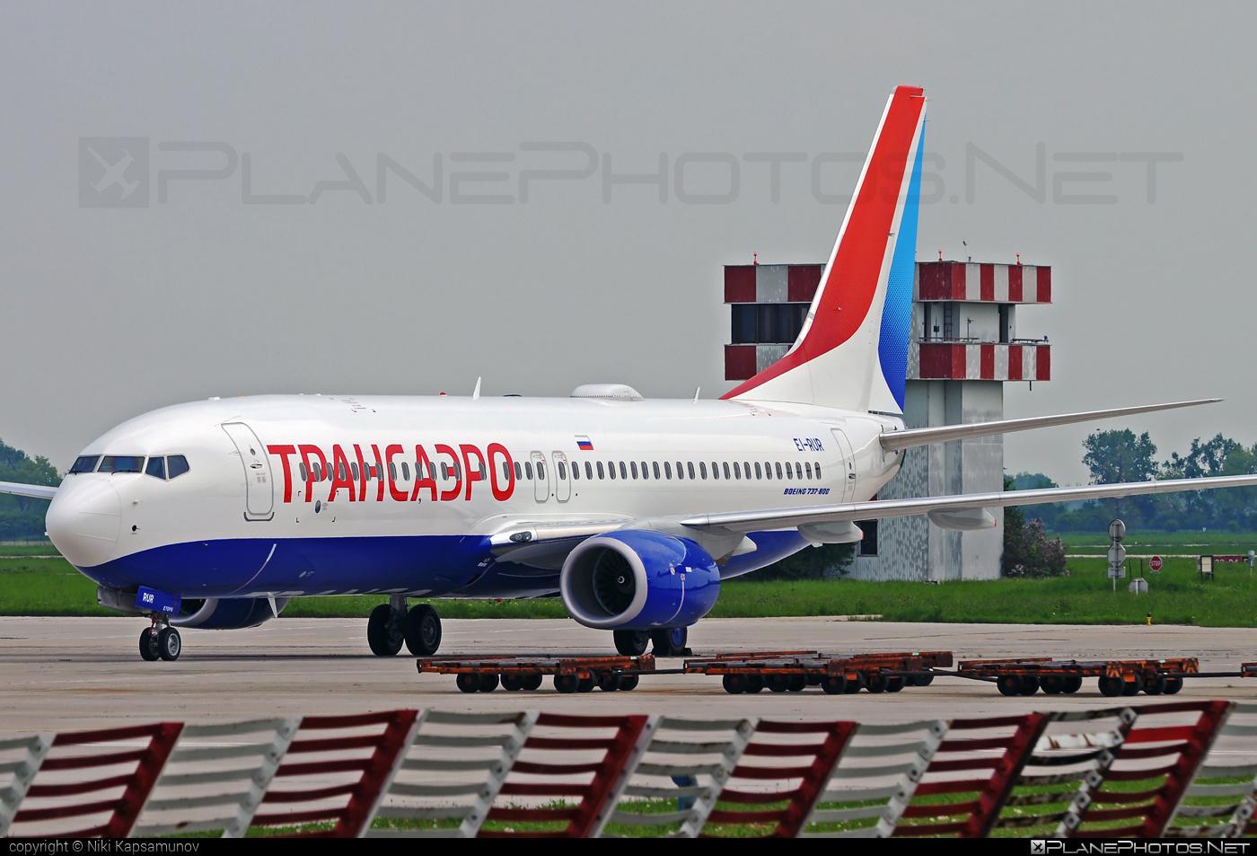 Boeing 737-800 - EI-RUR operated by Transaero Airlines #b737 #b737nextgen #b737ng #boeing #boeing737